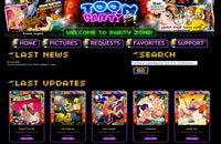 Toon Party members area screenshot
